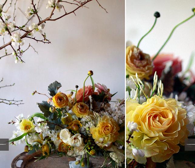 romantic floral arrangement II