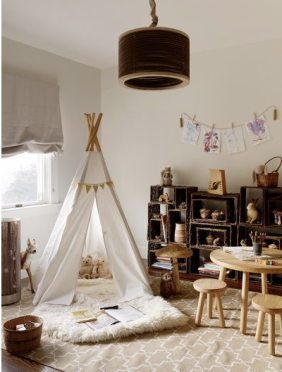 By Jute Interior Design in Elle Decor