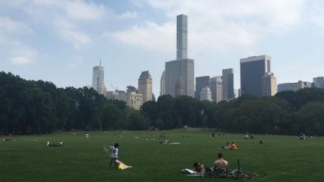 designpastiche.com NY Central Park Flying a kite